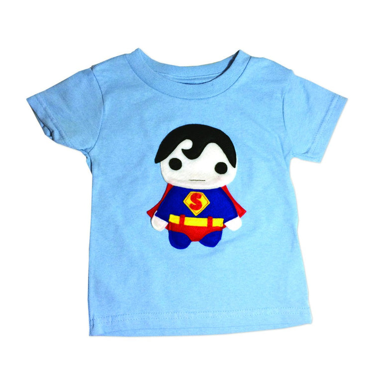 Superhero Kids T-shirt - Super Baby - gobabyco