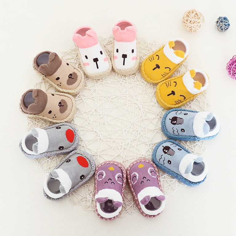 Casual Anti-Slip Baby Cotton Slipper Shoes - gobabyco