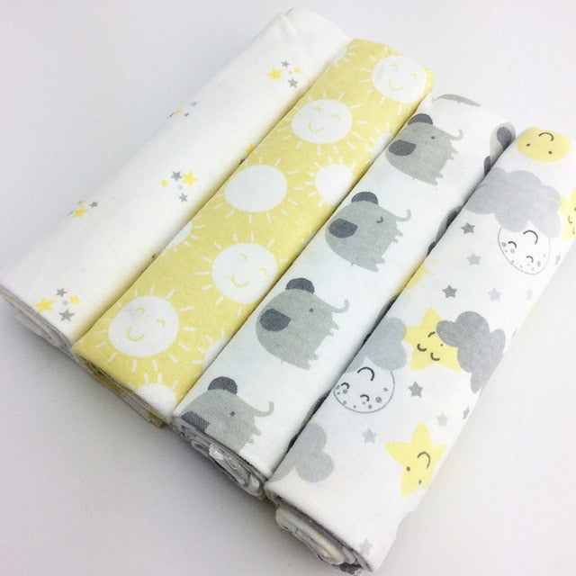 Cotton Flannel Bed-Sheets - gobabyco