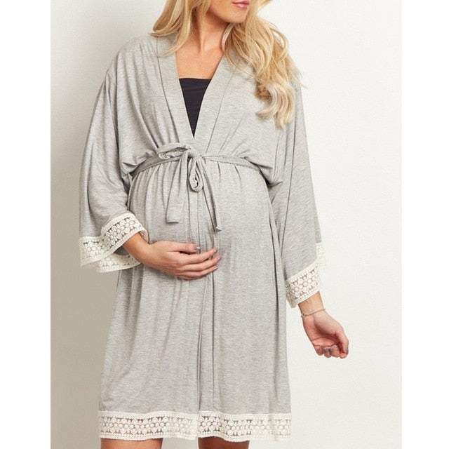 Full-Sleeved Ultra Comfortable Maternity Pajamas - gobabyco