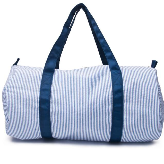 Weekend Stripe Travel Duffle Bag - gobabyco
