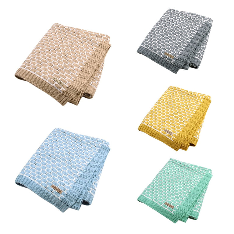 Super-Soft Sherpa Throws In Beautiful Colors & Plaid Design - gobabyco