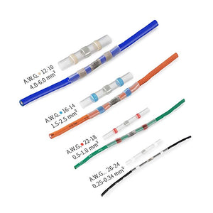 Water proof, Weather proof, color-coded tubing