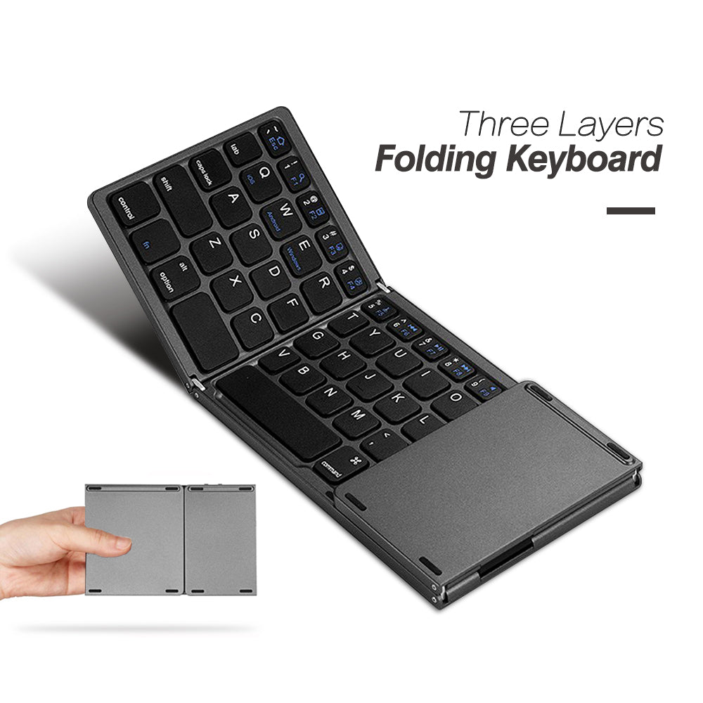 Wireless Foldable Keyboard for Smartphones