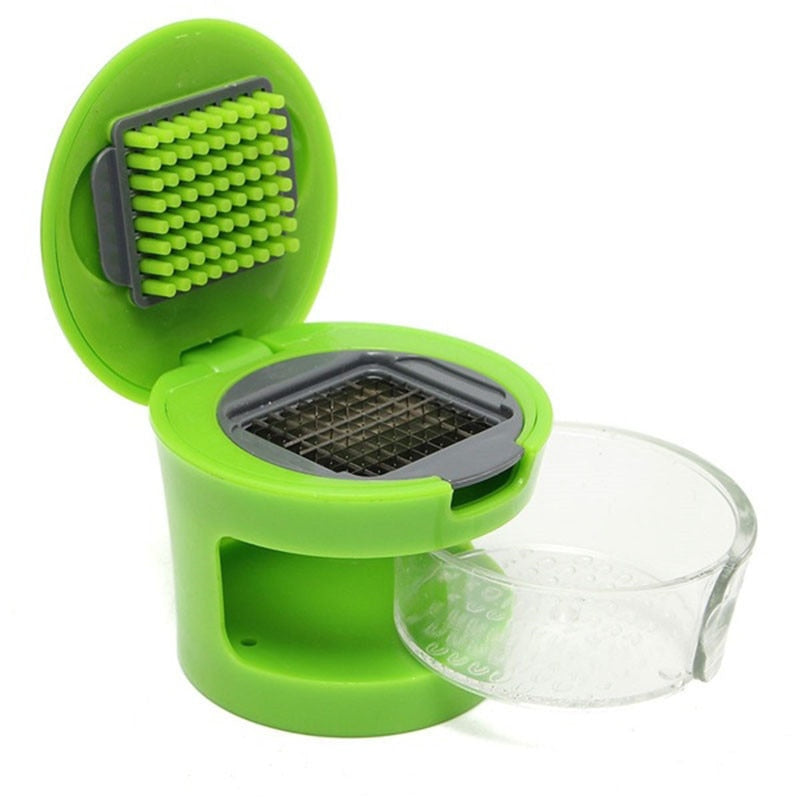 Practical Garlic Press Chopper Slicer