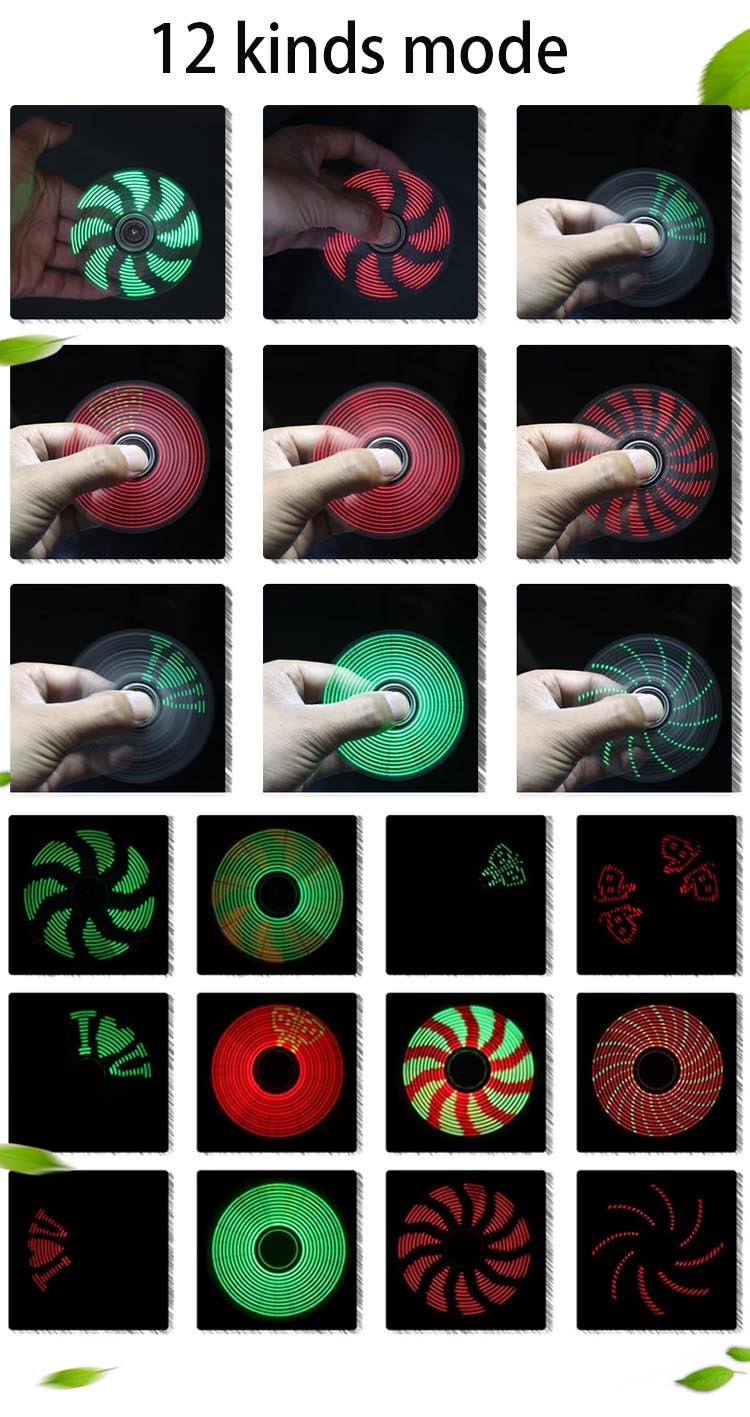 DIY STEM LED Finger Spinner Electronic Kit