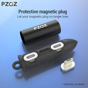 Portable Magnetic Charger Plugs Box
