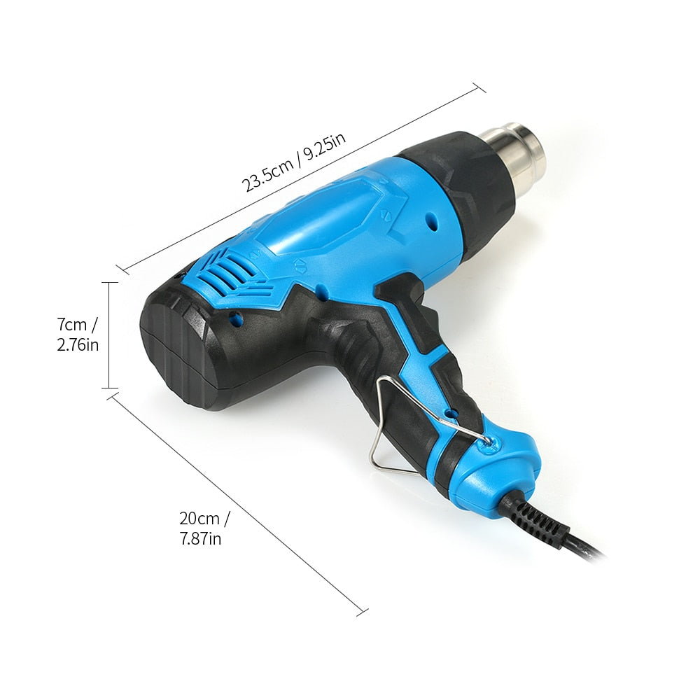 Blue DIY Heat Gun Shrink Temperature