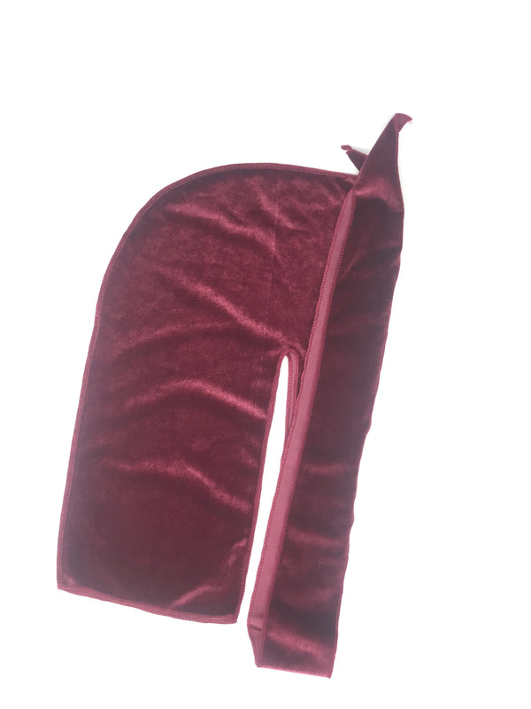 Plum Purple Velvet Durag