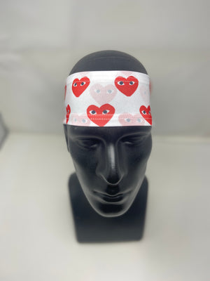 White Commo Headband