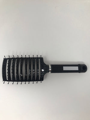 Black Detangling Brush