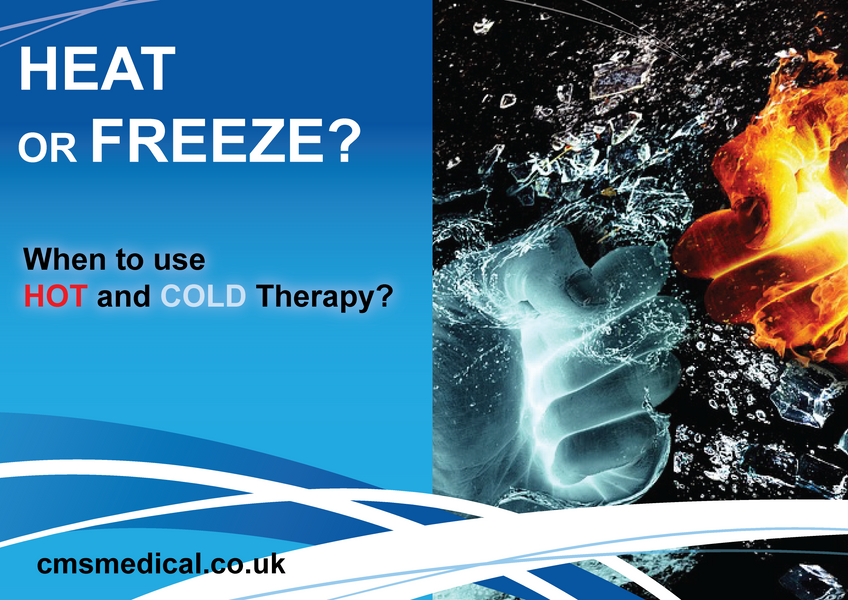 When to choose HEAT and when to choose COLD Therapy?