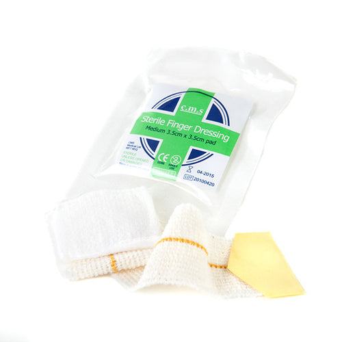 Finger Dressing Pad with Adhesive Fixing
