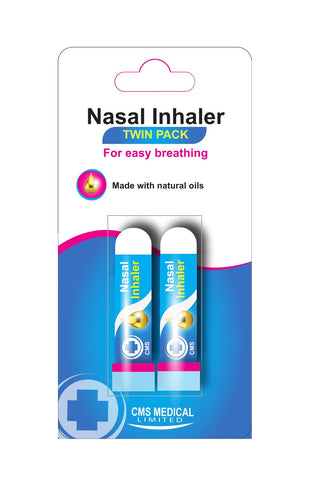 CMS Nasal Inhaler Twin Pack