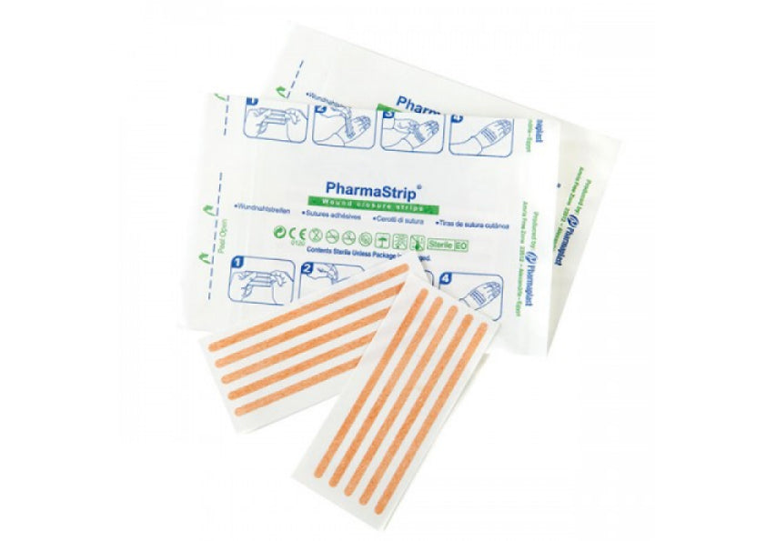 CMS Wound Closure Strips 4mm x 38mm (x8)