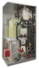 Load image into Gallery viewer, Heatese160-Blueflame + Buffer Pack Gas Heating System