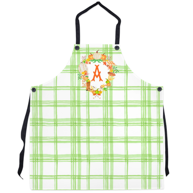 Custom Fall Crest Personalized Apron, Foliage
