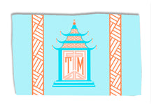 Load image into Gallery viewer, Royal Pagoda, Moonstone, Lightweight Cotton Rug