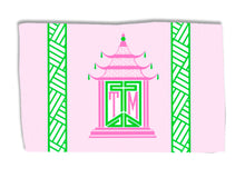 Load image into Gallery viewer, Royal Pagoda, Pink Quartz, Lightweight Cotton Rug