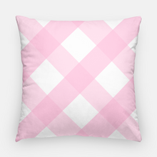 "Load image into Gallery viewer, Spring Staffies Easter 20""x20"" Pillow Cover, Pink"