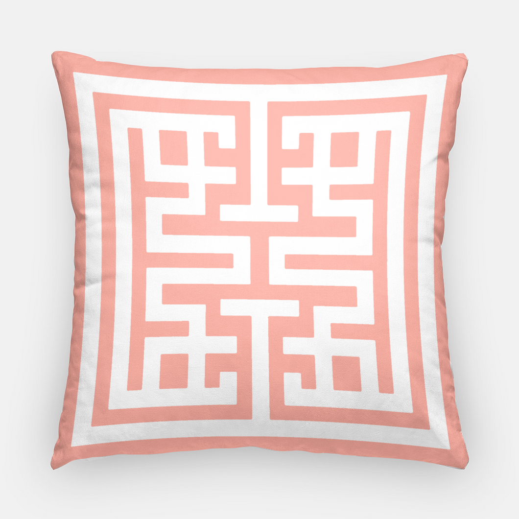 Tropicana Emblem Pillow