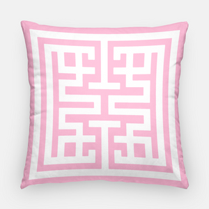 Flamingo Emblem Pillow