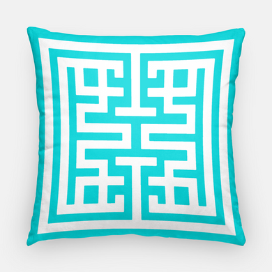 Caribbean Emblem Pillow