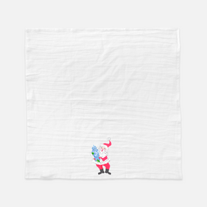 St. Chinoiserie Christmas Holiday Flour Sack Tea Towel