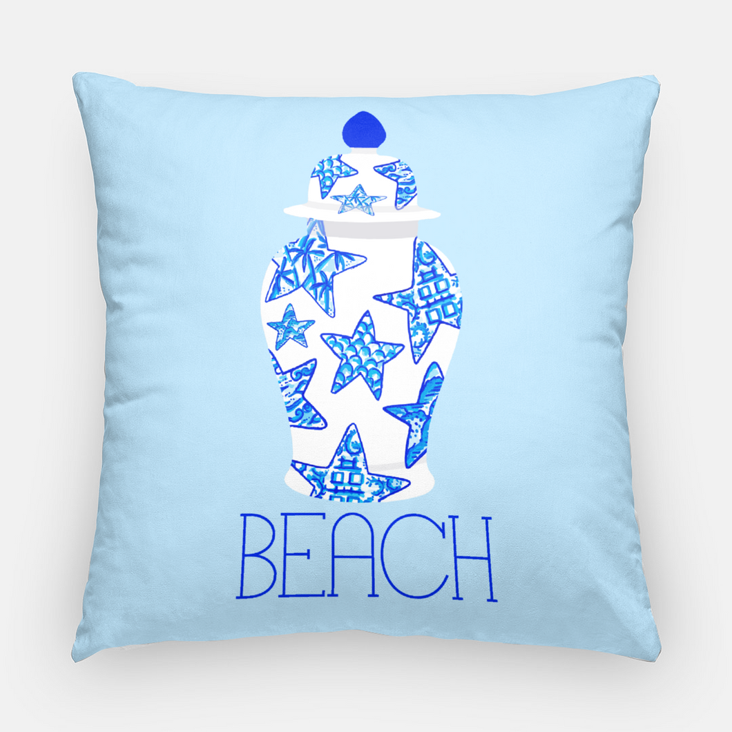 Oh My Stars Personalized Outdoor Pillow