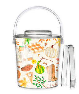 All Things Fall 3 Qt. Acrylic Ice Bucket