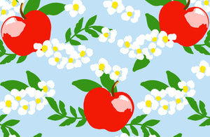 Apple Blossom Paper Tear-away Placemat Pad