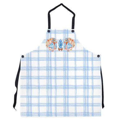 Chinois Turkey Thanksgiving Apron, Delft