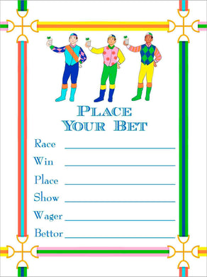 Jockeys & Juleps Kentucky Derby Betting Cards