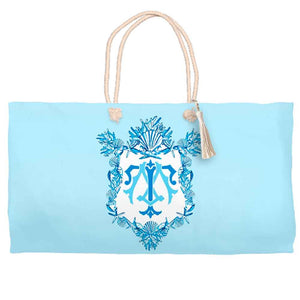 Seashell Crest Tote Bag, Seashore