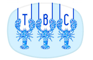 Chinois Lobster Personalized Melamine Platter