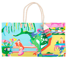 Load image into Gallery viewer, China Garden Tote Bag