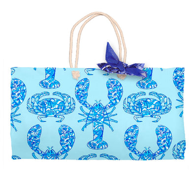 Chinois Lobsters & Crabs, Seashore, Tote Bag