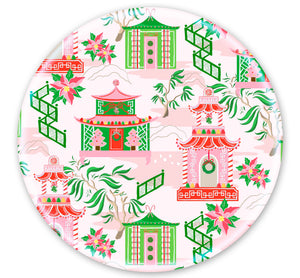 Chinoiserie Wonderland Set of (4) 10