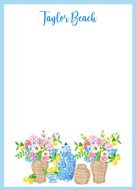 Summer's Bounty 5x7 Flat Note Cards