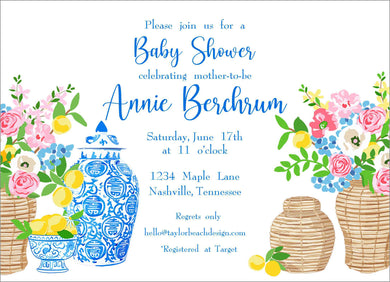 Summer's Bounty Invitation