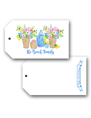 Summer's Bounty Personalized Hang Tags