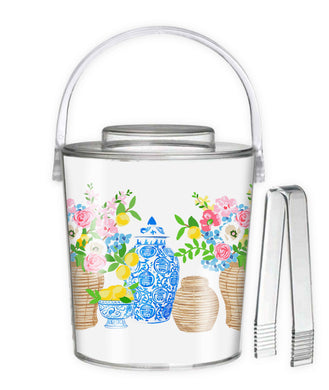 Summer's Bounty Ice Bucket