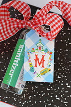 Load image into Gallery viewer, School Crest Personalized Hang Tags
