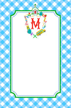 Load image into Gallery viewer, Custom School Crest Personalized Notepad, Multiple Sizes Available