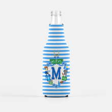 Load image into Gallery viewer, Custom Football Crest Personalized Bottle Coolers