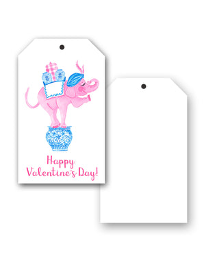 Trunk of Lovin' Elephant Valentine's Hang Tags, Set of 10
