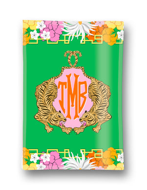 Enchanted Tiger Custom Crest Personalized 5