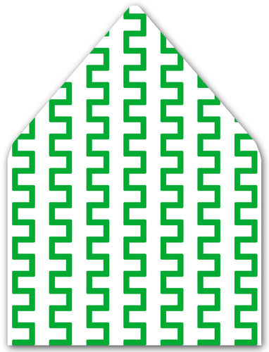 Pine Geometric A7 Patterned Envelope Liners
