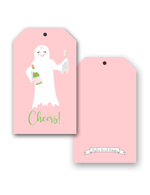 A Ghost to You Halloween Hang Tags