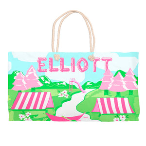 Girls' Greetings from Camp Tote Bag